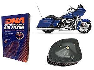 DUPLICADO - Kit Filtro de Ar Esportivo Harley Davidson FLHR Road King 107 CI & 114CI 17' - 21