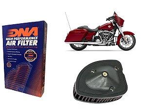 Kit Filtro de Ar Esportivo Harley Davidson FLHXS Street Glide Special 107 CI 17' - 21'
