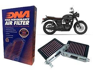 Filtro de Ar Esportivo DNA Filters Triumph Bobber 1200 17'~21'
