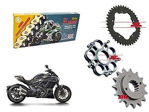 Kit Transmissão Cz Chains & JT Sprockets Ducati Diavel 1198