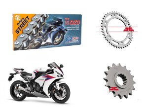 Kit Transmissão Cz Chains & JT Sprockets Honda CBR1000 (08'-16')