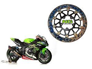 Disco de Freio Racing Dianteiro NG Brake Disk Kawasaki ZX10 R (16'~)