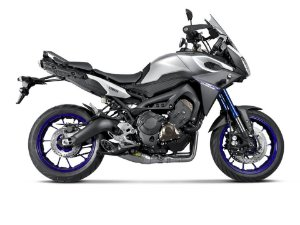 Escapamento full Akrapovic Racing Line ponteira  titanio - Yamaha MT09 / Tracer 900 (15~ )