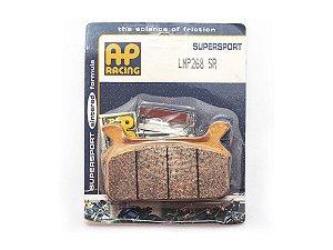 Pastilha de freio traseira Ap Racing sinterizada GG LMP 268 SR