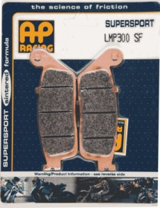 Pastilha de freio Ap racing LMP 300 SF