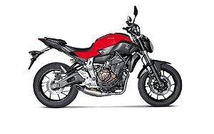 Escapamento Akrapovic Racing Line ponteira em titanio - Yamaha MT07 (15~18)