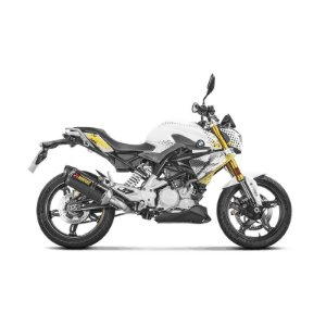 Escapamento full Akrapovic ponteira em carbono - BMW G 310 R (17~) / G 310 GS (18~)