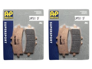 Pastilha de freio dianteira AP Racing sinterizada HH LMP 501 SF
