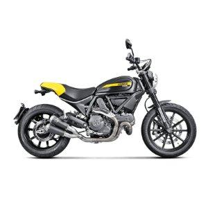 Ponteira Akrapovic titânio - Ducati Scrambler Icon/Urban Enduro/Classic/Full Throttle (14 ~17)