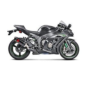 Escapamento Akrapovic Racing Line ponteira em carbono - Kawasaki ZX10 (16~20)
