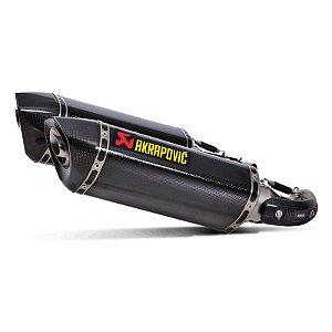 Ponteira Akrapovic carbono- Ducati Monster 796 (10~14)