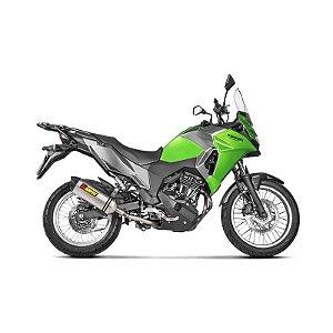 Ponteira Akrapovic titânio- Kawasaki Versys 300
