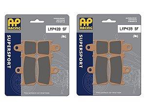 Pastilha de freio SINTERIZADA AP Racing HH LMP 439 SF