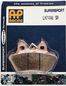 Pastilha de freio SINTERIZADA AP Racing LMP 446 SR