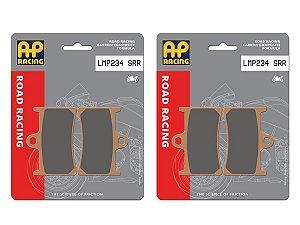 Pastilha de freio dianteira RACING AP Racing LMP 234 SRR