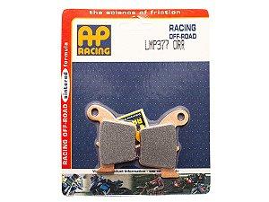 Pastilha de freio traseira RACING AP Racing sinterizada MX HH LMP 377 ORR