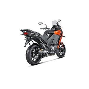 Ponteira Akrapovic carbono  - Kawasaki Versys 1000