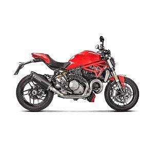 Protetor Akrapovic em carbono - Ducati Monster1200/S (17~18)