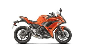 Escapamento Akrapovic Racing Line - Kawasaki Ninja 650 (17~18)