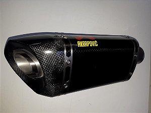 Ponteira Akrapovic em Carbono- Yamaha MT07