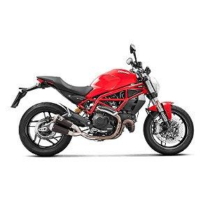 Ponteira Akrapovic titânio dupla - Ducati 797 (18~)