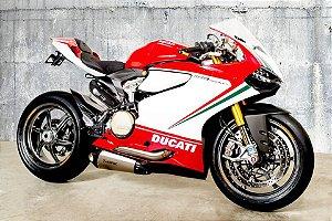 Escapamento full Akrapovic Evolution Line titanio - Ducati Panigale 959/ 1199 / 1299