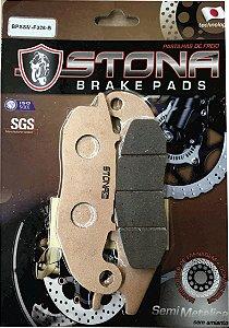 Pastilha de freio Stona Semi Metálica F026-B