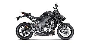 Ponteira Dupla Akrapovic Carbono - Kawasaki Z1000 ( 17~)