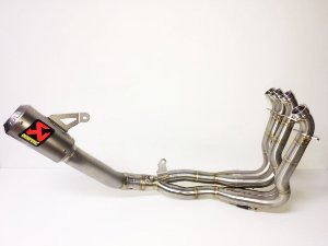 Escapamento full Akrapovic - coletores em inóx e ponteira Moto GP  em tiânio - Suzuki GSX-R 1000  (17~)