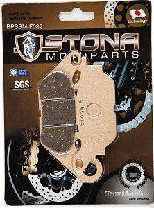 Pastilha de freio  Stona semi metalica - Yamaha R3/MT03  Tras e Factor 150 diant