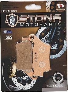 Pastilha de freio traseira semi metalica  Stona  - KTM 390