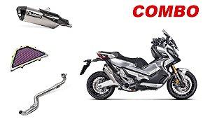 Combo Ponteira + Coletor + Filtro de Ar DNA Honda X-Adv
