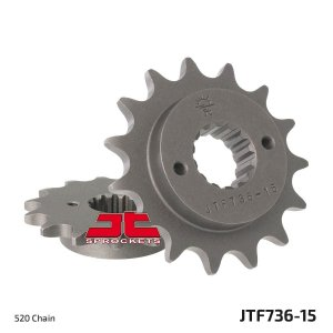 Pinhão JT SPROCKETS DUCATI Multistrada 620 / Monster 695/797 - 15 DENTES