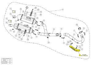 DB killer Honda CRF 450 R (2015) 2 peças