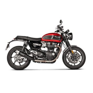 Ponteira Akrapovic titânio - Triumph Speed Twin (19~)