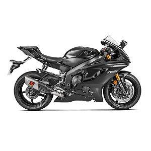 Escapamento full Akrapovic Racing Line ponteira  titanio - Yamaha R6 (08~ 20)