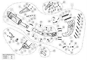 Escapamento Akrapovic Racing Line - Full - BMW S 1000 RR (20~)