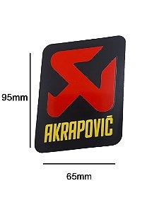 Adesivo térmico Akrapovic  6,5x100,0cm