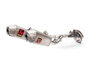 Escapamento full Akrapovic Racing Line ponteira dupla  - Honda CRF R /RX (17~20)