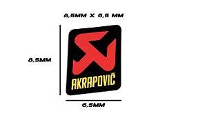 Adesivo térmico Akrapovic 8,5x 6,5 mm