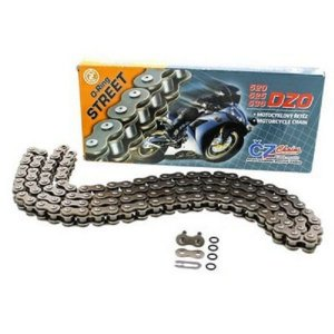 "Corrente CZ Chains 525x122 DZO Bronze Retentor em ""O"""