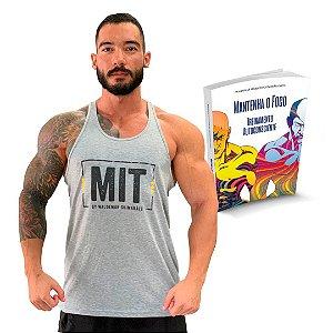 Camiseta MIT+ Livro Treinamento Autoconsciente.