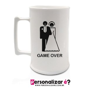 "Caneca 450ml "" Game Over"""