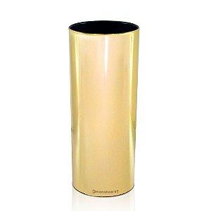 Copo Metalizado Dourado 300ml - Poliestireno Acrilico PS