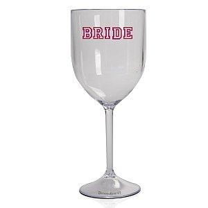 Taça Vinho Acrilico  400ml - Bride