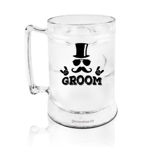 Caneca Gel acrilico PS  400ml - Groom