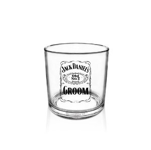 Copo Whisky Acrílico 320ml - Jack Daniels Groom