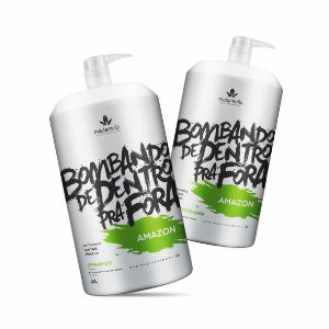 MADAMELIS AMAZON KIT LAVATÓRIO SHAMPOO E CONDICIONADOR 3L