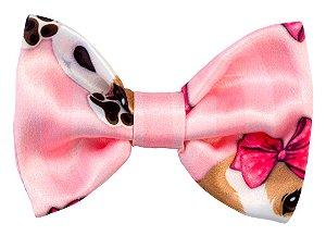 Bico de Pato Infantil Beagle Rosa