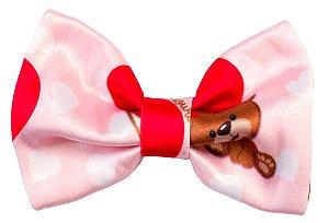 Bico de Pato Infantil Urso Vermelho